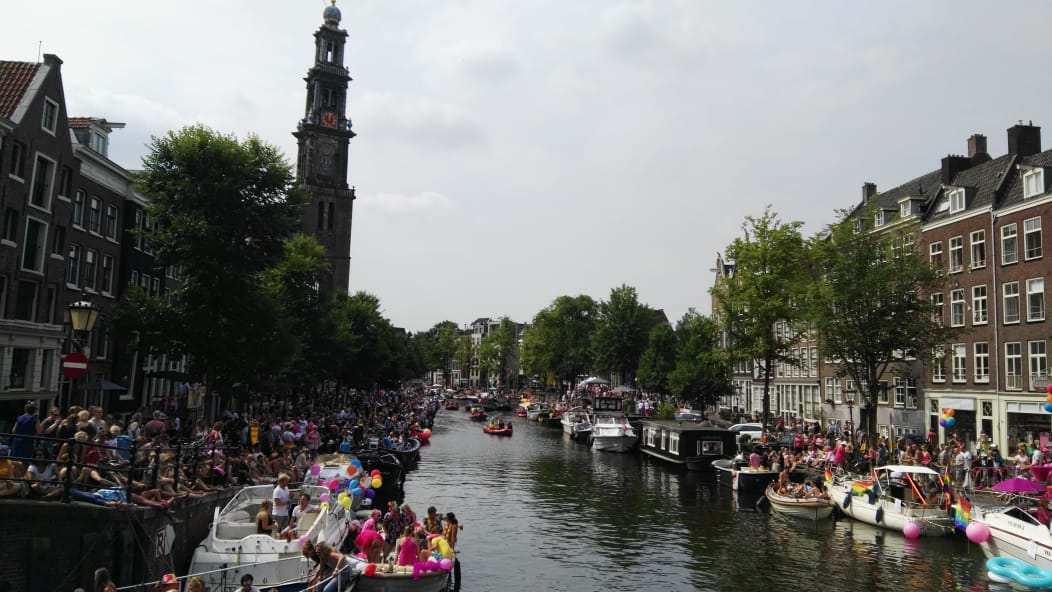 Gay pride Amsterdam 2018