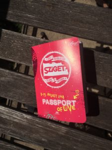 Sziget, passport of love