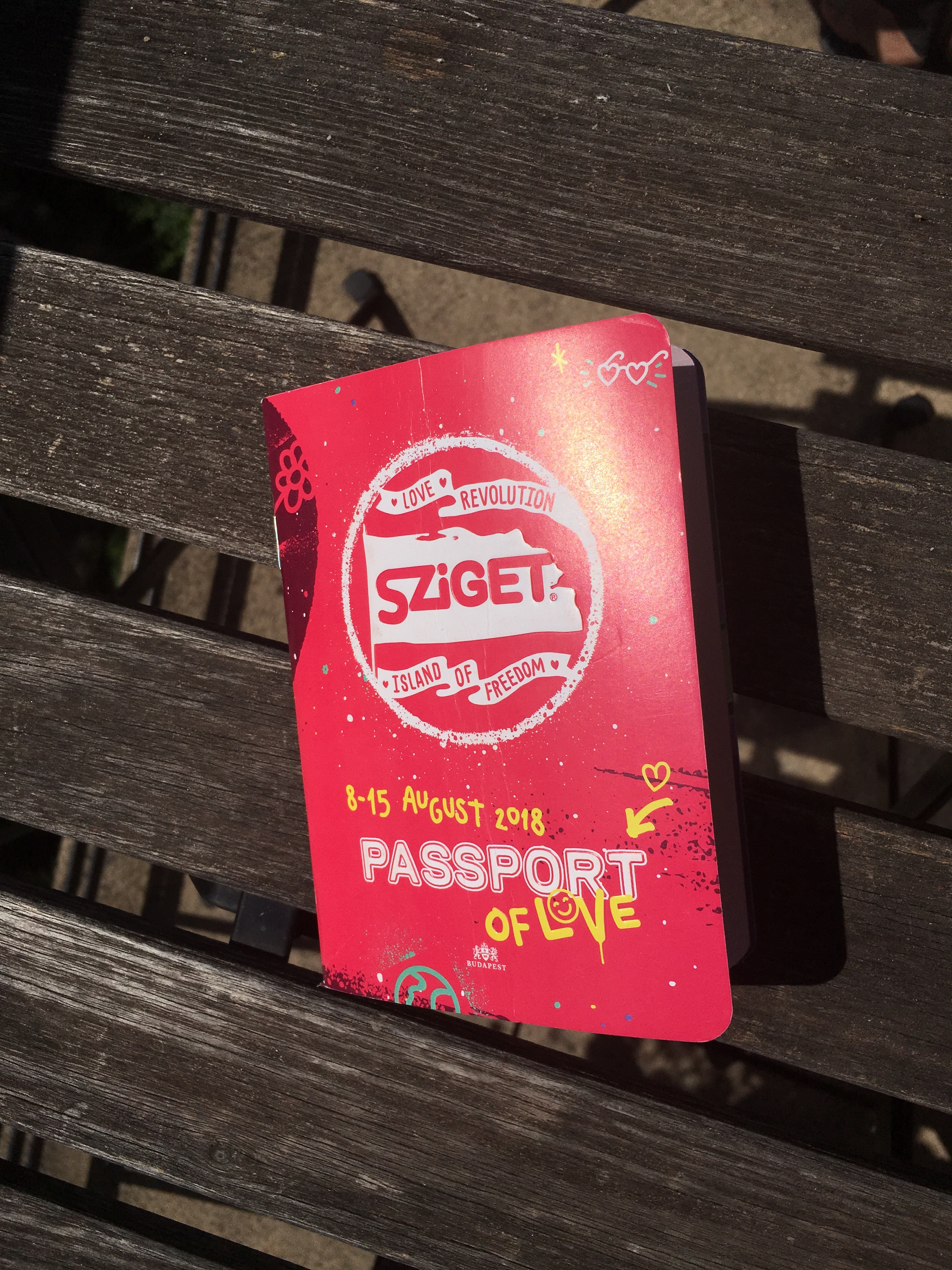 Sziget, passport of love