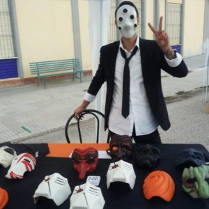 Gabriele Manca is the one behind the masks