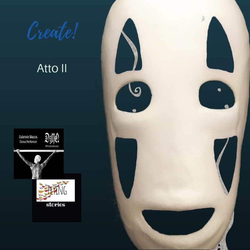 create! Gabriele Manca gives some tips about how to make masks
