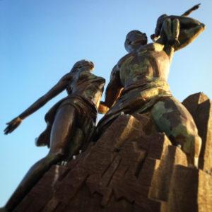 monumento rinascita senegal