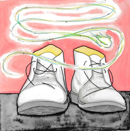 Shoes_Souls Alive. Story by Daniele Frau_Illustrations by DMQproductions