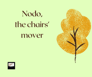 Nodo, the chairs' mover. A story for children by Daniele Frau