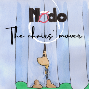 Nodo, the chairs' mover. A children's book written by Daniele Frau and illustrated by Gabriele Manca.
