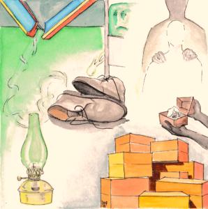 Il valore dell'anima_Anime vive_Primo Capitolo_Scritto da Daniele Frau_Illustrazioni di Gabriele Manca.