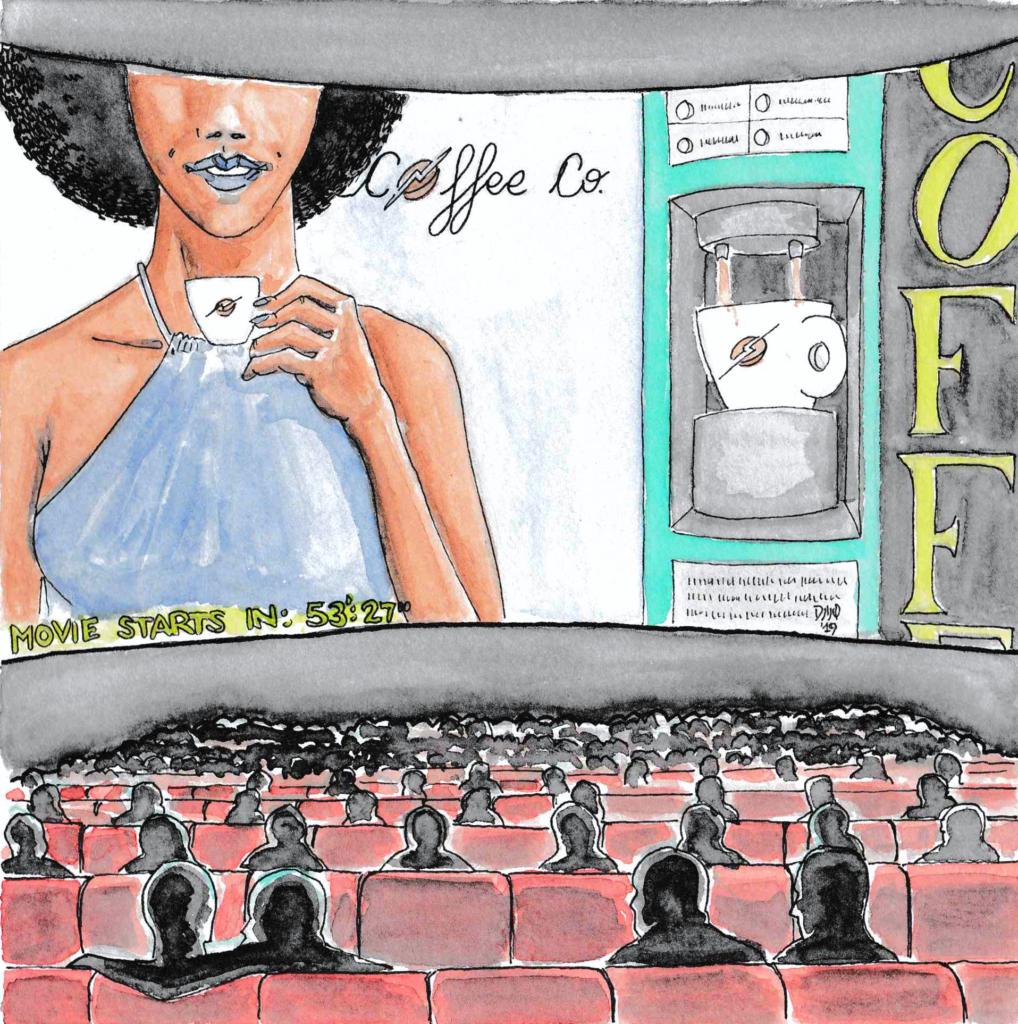 Il cinema e la pubblicità, Anime vive, libro scritto da Daniele Frau e illustrato da Gabriele Manca.