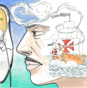 Christophorus Columbus_Souls Alive_ By Daniele Frau_Illustrations by Gabriele Manca