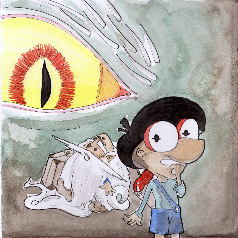 The dragon awake, hurry Nodo!